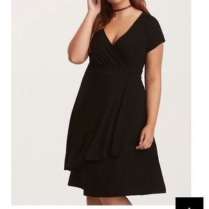 Torrid NWT Jersey Wrap Dress 2X 18/20